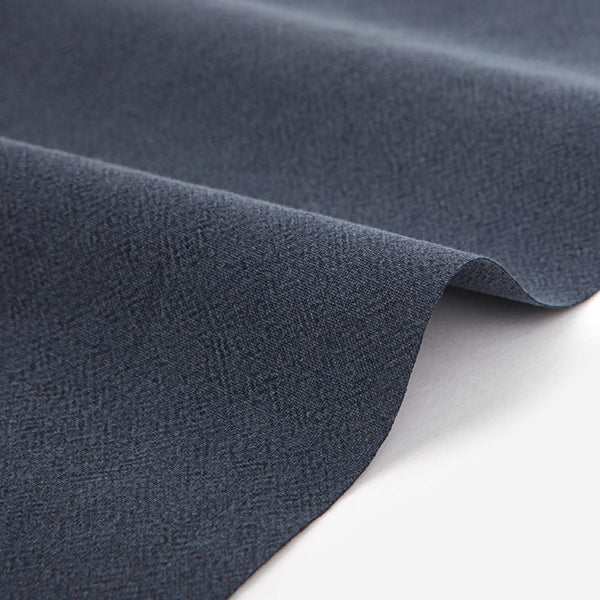 328 Pigment Washed : Moonbeam Navy 1540mm Cotton 30C Fabric