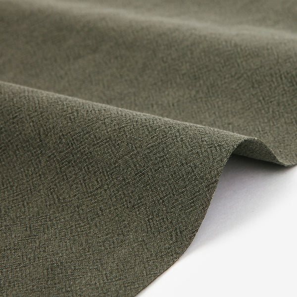 326 Pigment Washed : Mud Khaki 1540mm Cotton 30C Fabric