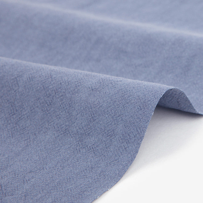 324 Pigment Washed : Violet Blue 1540mm Cotton 30C Fabric