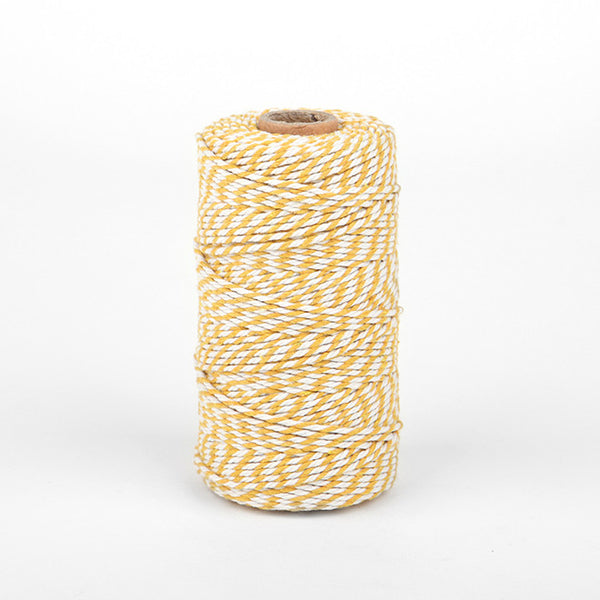Thick Twine : Deep Yellow - 100 yards