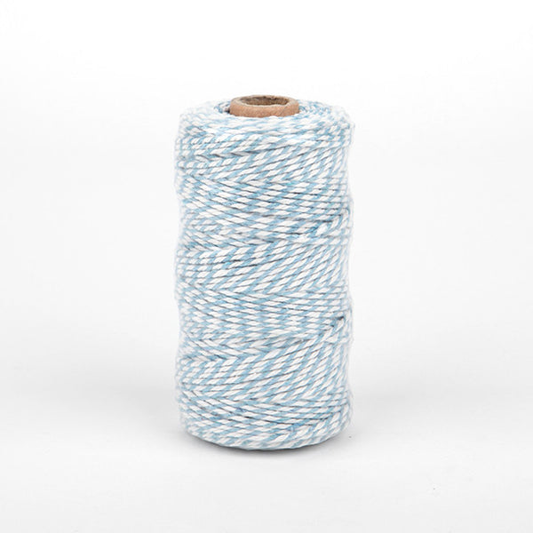 Thick Twine : Sky Blue - 100 yards