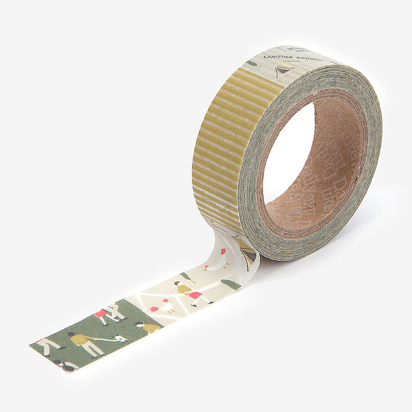 Washi Tape : Camping Map