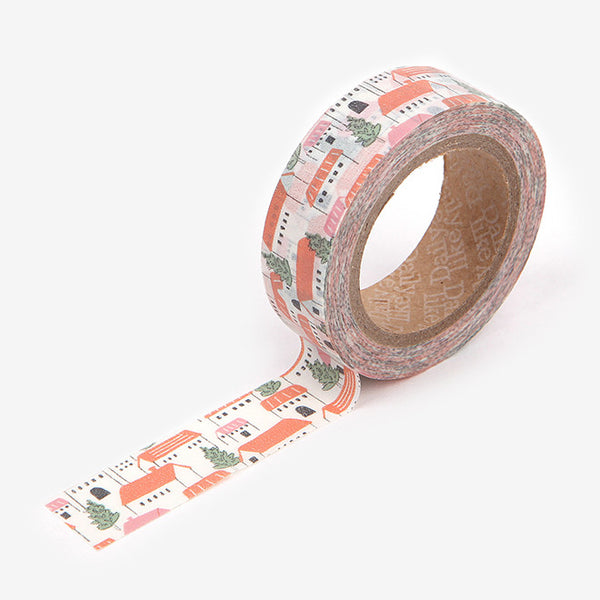 Washi Tape : Czech Village