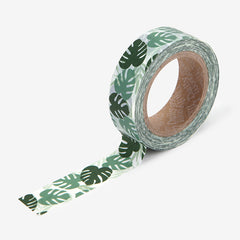 Washi Tape : Monstera