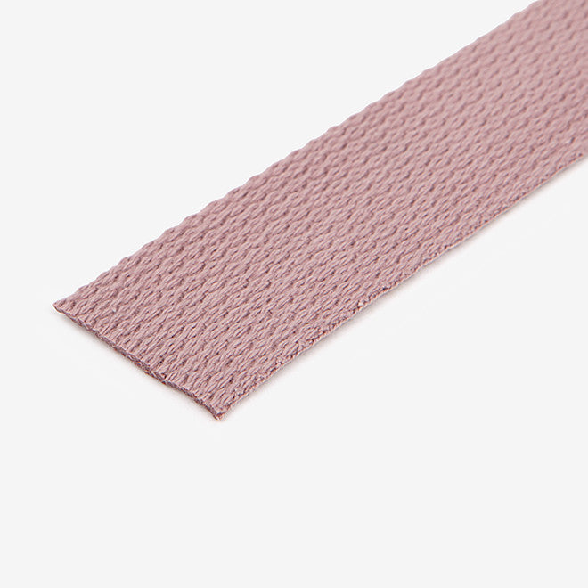 Cotton Tape 30mm : Indian Pink