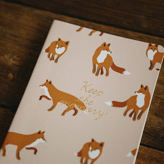 Daily Planner : Winter Fox