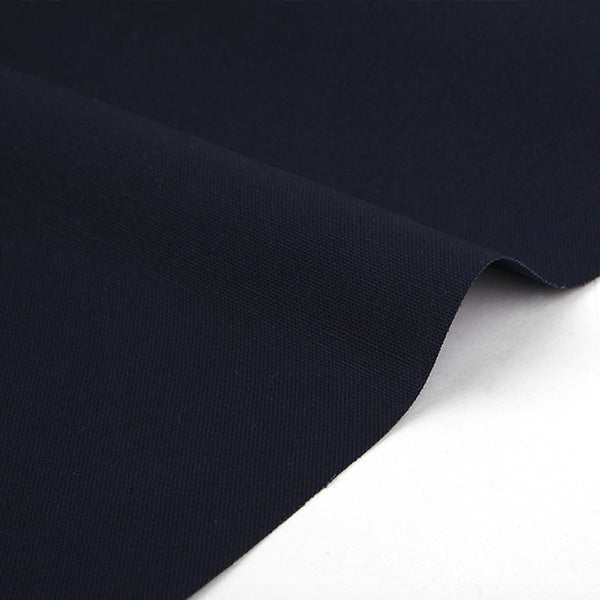 Evening Navy 1500mm Cotton Oxford Fabric - 1 YARD