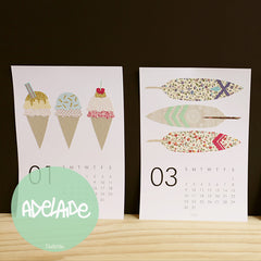 Adelaide : Crafty Calendars