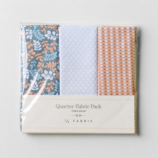 Quarter Fabric Pack : Leaves