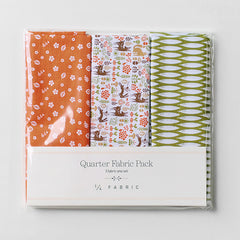 Quarter Fabric Pack : My Buddy