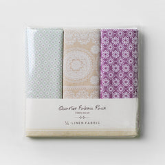 Linen Quarter Fabric Pack : October