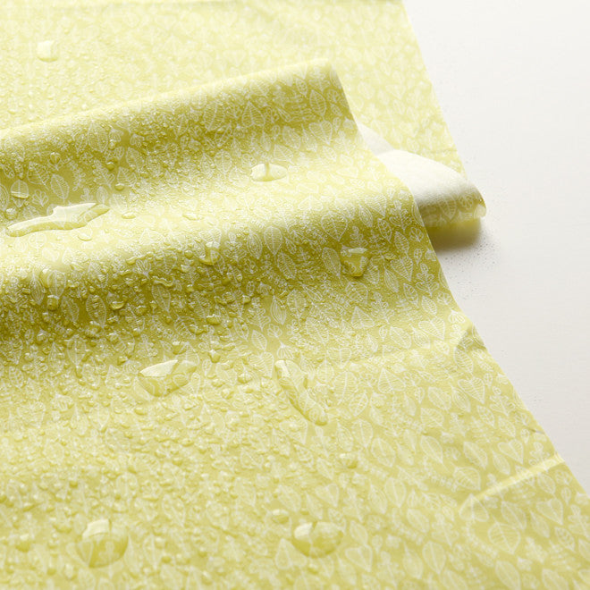 Laminated Fabric Yard : Seed - Leaf
