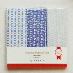 Quarter Fabric Pack : Snow Bell