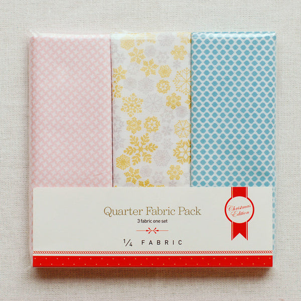 Quarter Fabric Pack : Snowflake