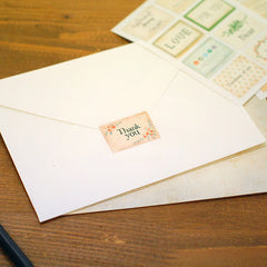Stamp Stickers : Message