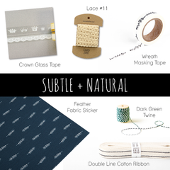 Wrapping Kickstarter : Subtle and Natural