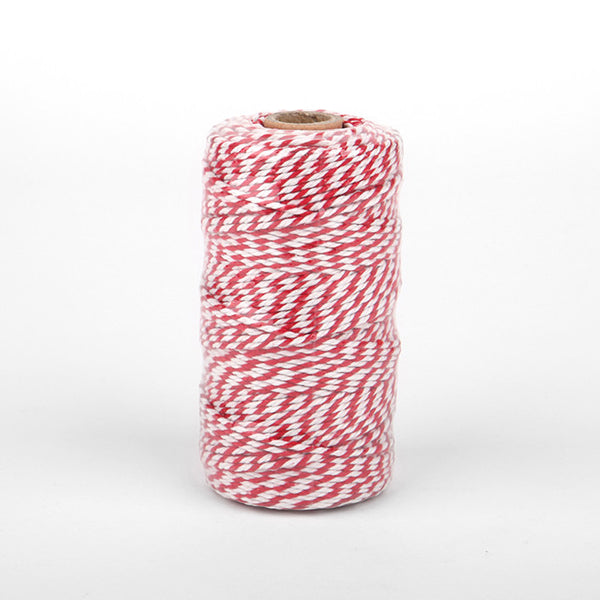 Thick Twine : Red - 100 yards