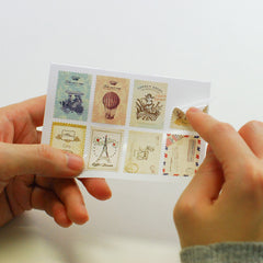 Stamp Stickers : Atelier - 16pk