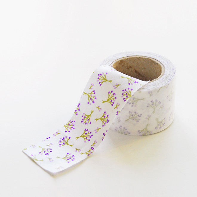 Bias Tape Roll : Bouquet Lilac