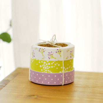 Fabric Tape 3pk : Bouquet