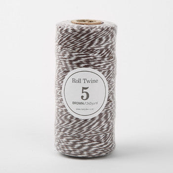 Thin Twine : Brown - 240 yards