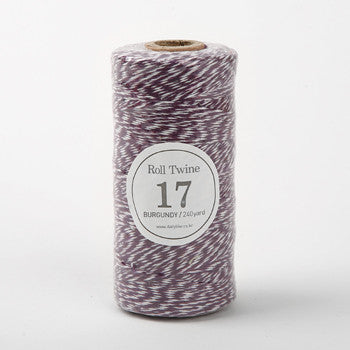 Thin Twine : Burgundy - 240 yards