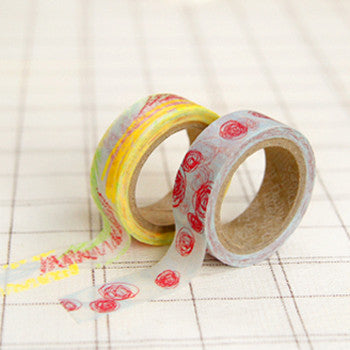 Washi Tape 2pk : Childlike