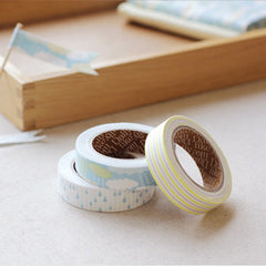 Fabric Tape 3pk : Cloud