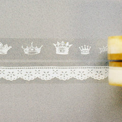 Glass Tape : Crown - 2pk