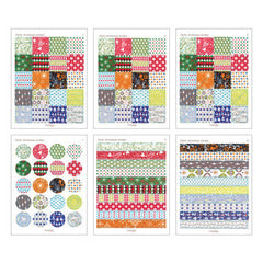 Mixed Sticker Set : Daily Christmas - 180pk