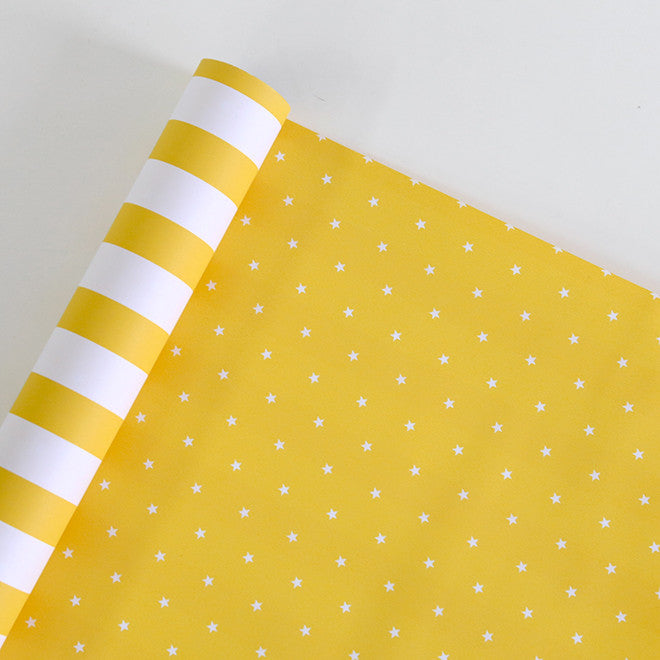 Wrapping Paper : Daily Yellow
