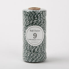 Thin Twine : Dark Green - 240 yards