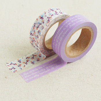 Washi Tape 2pk : Dear