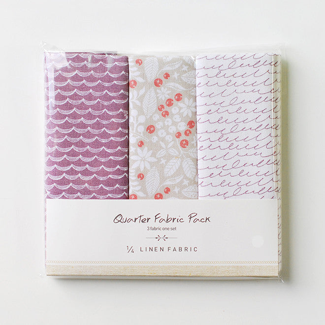 Linen Quarter Fabric Pack : Dear