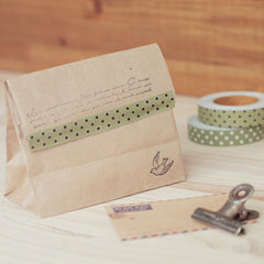 Fabric Tape : Dot - Olive