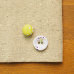 Buttons : Bouquet - 10pk