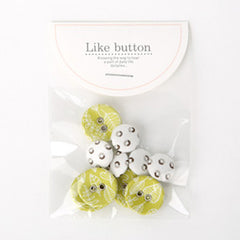 Buttons : Seed - 10pk