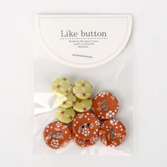 Buttons : Thank You - 10pk