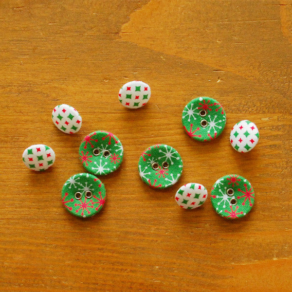 Buttons : Twinkle - 10pk