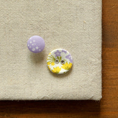 Buttons : Wildflower - 10pk