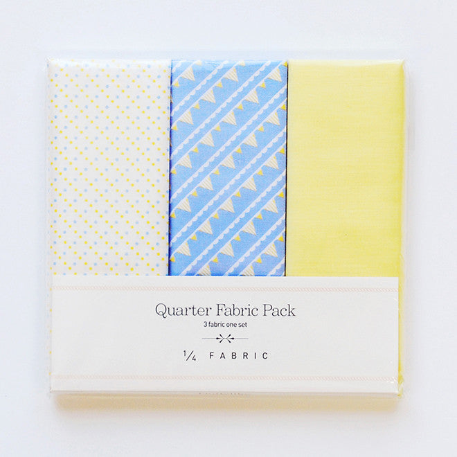 Quarter Fabric Pack : Flag