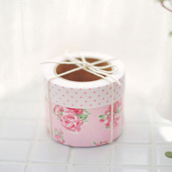 Fabric Tape 2pk : Floral