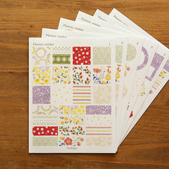 Mixed Sticker Set : Flowery - 155pk