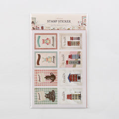 Stamp Stickers : Homely - 16pk
