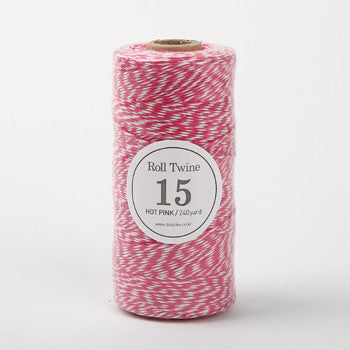 Thin Twine : Hot Pink - 240 yards