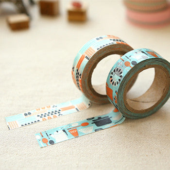 Washi Tape 2pk : Kamome Dinner