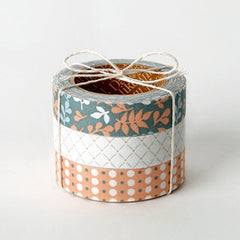 Fabric Tape 3pk : Leaves