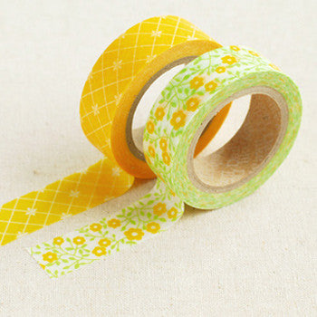 Washi Tape 2pk : Lemon Tree