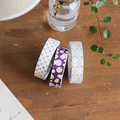 Fabric Tape 3pk : Lucid