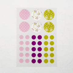Masking Stickers : Bouquet